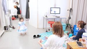 心斎橋おしゃれなファミリーフォト撮影写真スタジオ