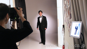 演奏会プログラム用プロフィール写真撮影フォトスタジオ大阪