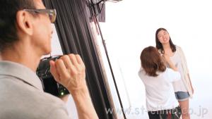 オーディション用プロフィール写真撮影フォトスタジオ大阪