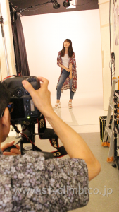 モデルポージング撮影レッスンフォトスタジオ大阪