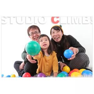 家族で記念写真ファミリーフォト撮影スタジオ大阪