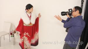 成人式前撮り着付けとヘアメイク撮影フォトスタジオ大阪